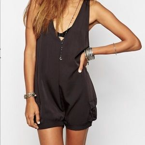 One teaspoon good time romper black size M